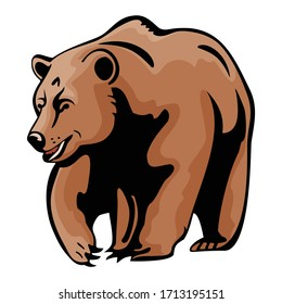 Cartoon Animal Vector Illustration Of Bears/