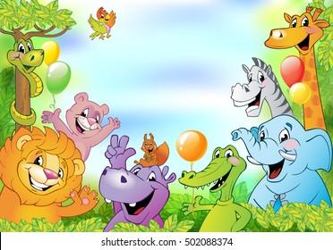 Cartoon Border Images Stock Photos Vectors Shutterstock