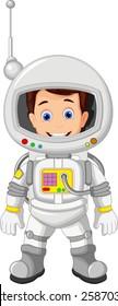 Cartoon Astronaut for you design