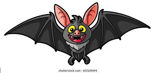 flying bat cartoon images stock photos vectors shutterstock rh shutterstock com free cartoon bat pictures cricket bat cartoon pictures