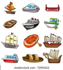 Cartoon Boat Images, Stock Photos & Vectors | Shutterstock