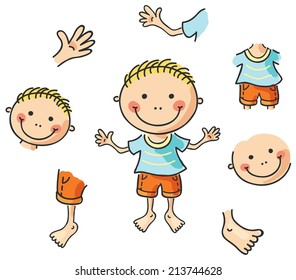 Boy Body Parts Images, Stock Photos & Vectors | Shutterstock