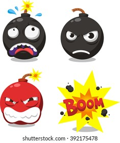 cartoon bomb set 1