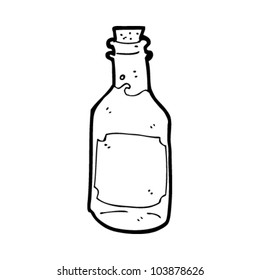 cartoon bottle