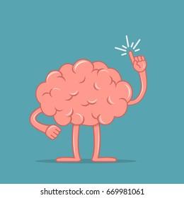 cartoon brain images stock photos vectors shutterstock rh shutterstock com Easy Cartoon Brain cartoon brain pics
