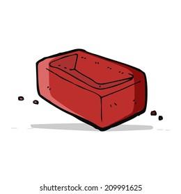 cartoon brick