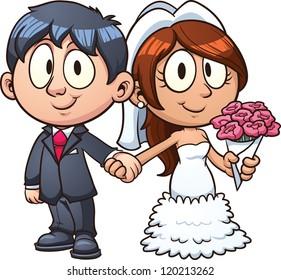 Marriage Cartoons Images Stock Photos Vectors Shutterstock