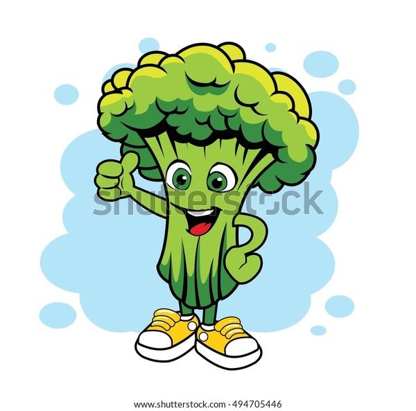 cartoon broccoli vector mascot stock vector royalty free 494705446 https www shutterstock com image vector cartoon broccoli vector mascot 494705446