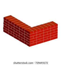 Cartoon Building Material Brick