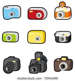 cartoon camera icon