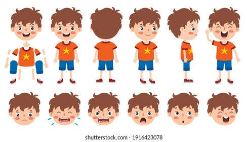 Cartoon Character Design For Animation