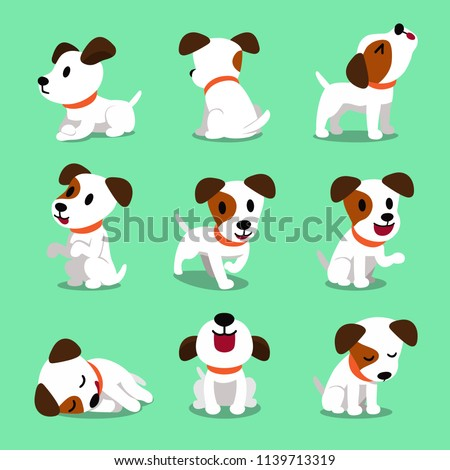 Cartoon character jack russell