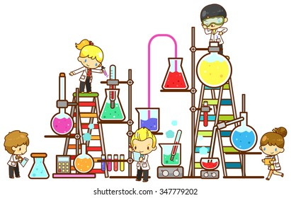 Science Cartoons Images Stock Photos Amp Vectors Shutterstock