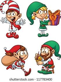 Christmas Cartoon Images Clip Art.Christmas Cartoon Images Stock Photos Vectors Shutterstock