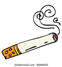 cigarette cartoon images stock photos vectors shutterstock rh shutterstock com cigarette carton dimensions cigarette cartons uk