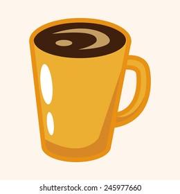 cartoon coffee icon