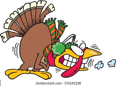 cartoon cold turkey