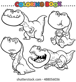 Colorful Dinosaurs Images Stock Photos Vectors