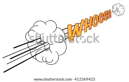 768b78d4e27 A cartoon comic book sonic boom whoosh fast sound effect design element  graphic