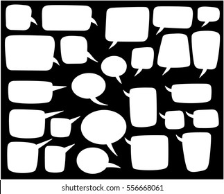cartoon comic bubble, speech bubble,