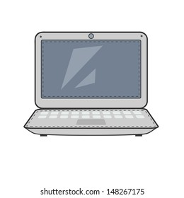 Cartoon  computer.