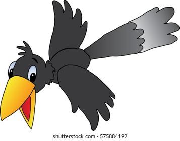 Crow Cartoon Images, Stock Photos & Vectors | Shutterstock