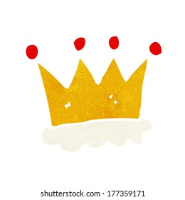cartoon crown symbol