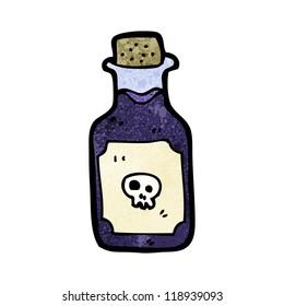 cartoon deadly poison