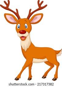 Cartoon deer