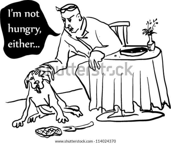 Cartoon Depicting Scene Restaurant Stock Vector (Royalty ...