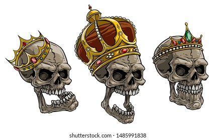 Cartoon Detailed Realistic Colorful Scary Human Stock Vector Royalty Free 1485991838 Search, discover and share your favorite cartoon crown gifs. cartoon detailed realistic colorful
