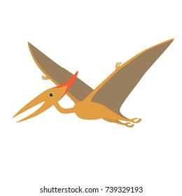 cartoon dino pteranodon