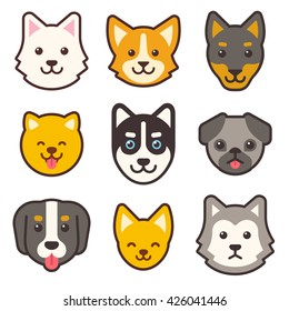 Dog Face Images Stock Photos Vectors Shutterstock