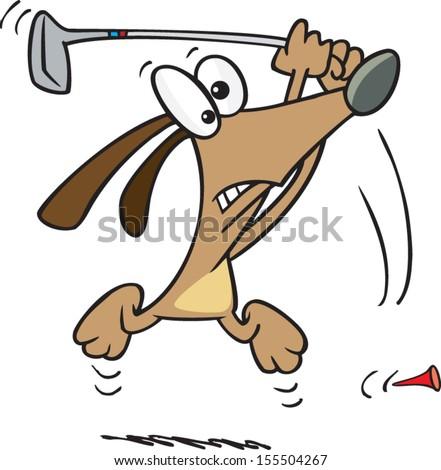 Cartoon Dog Playing Golf Stock Vector (Royalty Free) 155504267 ... on medical dog cartoon, fashion dog cartoon, scuba dog cartoon, bacon dog cartoon, flying dog cartoon, easter dog cartoon, shop dog cartoon, flyball dog cartoon, valentine's dog cartoon, bomb dog cartoon, winter dog cartoon, dancing dog cartoon, spider dog cartoon, disco dog cartoon, peace sign dog cartoon, sea dog cartoon, surf dog cartoon, multipurpose dog cartoon, 4th of july dog cartoon, dress up dog cartoon,