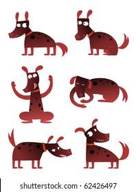 Cartoon Dog - vector