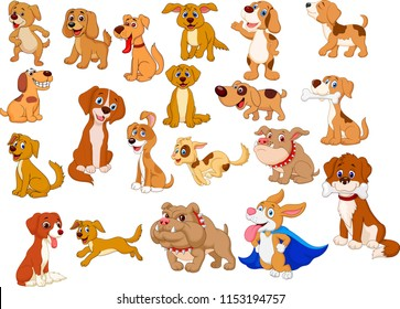 Image of: Set Cartoon Dogs Collection Shutterstock Cartoon Dog Images Stock Photos Vectors Shutterstock
