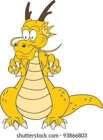 cartoon dragon eight