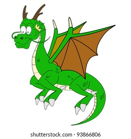 cartoon dragon eleven