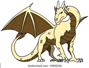 cartoon dragon fifteen