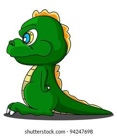 cartoon dragon nineteen