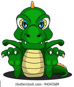 cartoon dragon seventeen