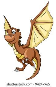 cartoon dragon twenty five