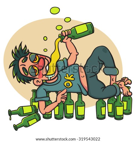 Image result for royalty free cartoon drunk