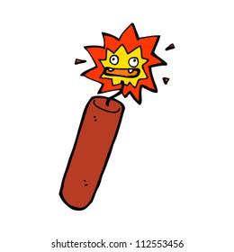 cartoon dynamite stick