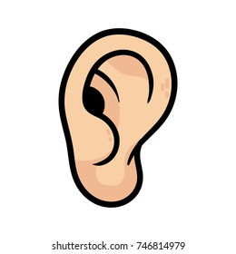 Cartoon Ear