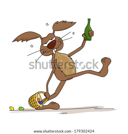Image result for Drunk Bunny animation