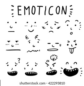 cartoon expression set