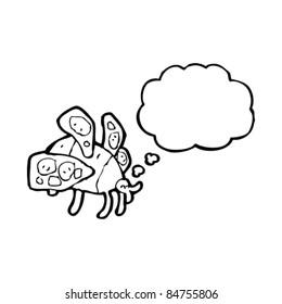 cartoon fat bee