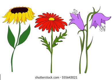 Flower Cartoon Images, Stock Photos \u0026 Vectors