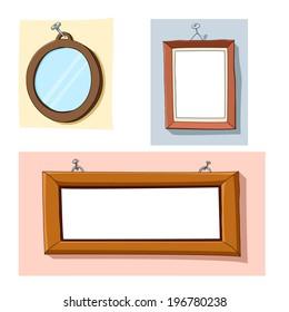 Cartoon frames
